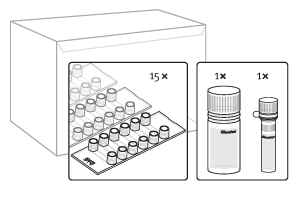Inhalt des μ-Transfection Kits VI