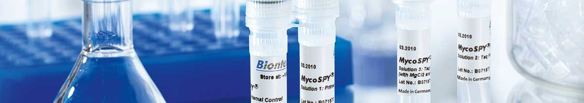 PCR Kit for detection of mycoplasmas MycoSPY from Biontex